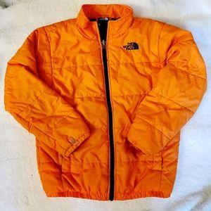 TNF • Boys Synthetic Down Jacket Orange